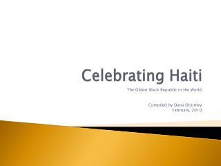 Celebrating Haiti