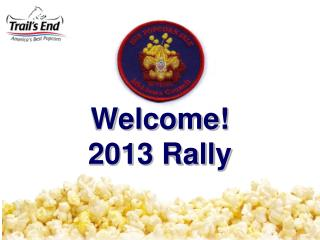 Welcome! 2013 Rally