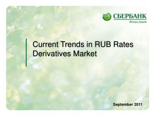 Current Trends in RUB Rates Derivatives Market