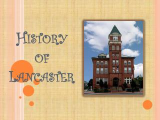 History of Lancaster