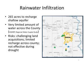 Rainwater Infiltration