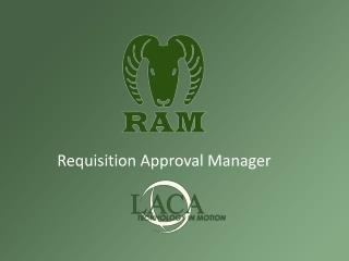 Requisition Approval Manager
