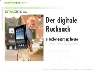 Der digitale Rucksack