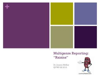 "Multigenre  Reporting:  ""Raisins"""