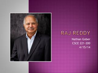Raj Reddy