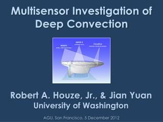 Multisensor Investigation of Deep Convection