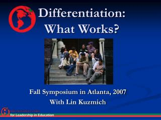 Differentiation: What Works