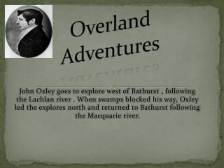 Overland        Adventures