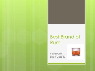 Best Brand of Rum