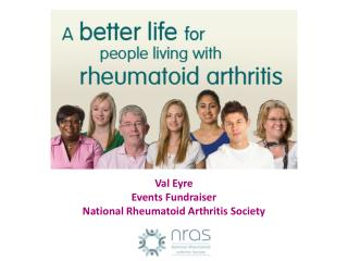 Val Eyre Events Fundraiser National Rheumatoid Arthritis Society