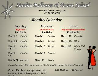 Starlite  Ballroom & Dance School