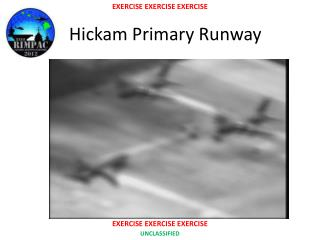 Hickam  Primary Runway