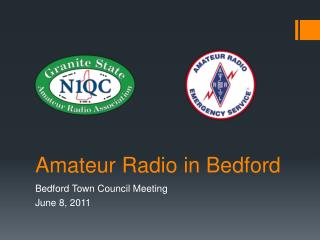 Amateur Radio  in Bedford