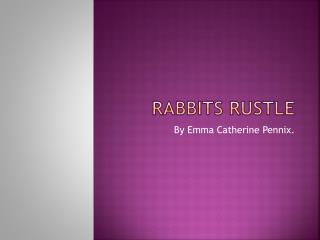 Rabbits Rustle