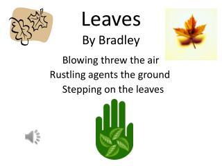 Leaves By  Bradley
