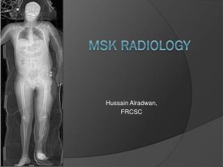 MSK Radiology