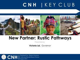 New Partner: Rustic Pathways