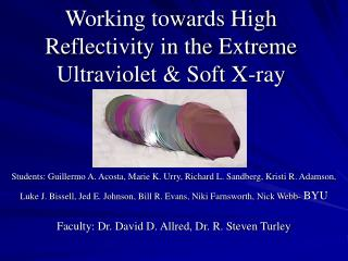 Working towards High Reflectivity in the Extreme Ultraviolet  Soft X-ray
