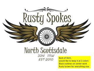 Rusty Spokes