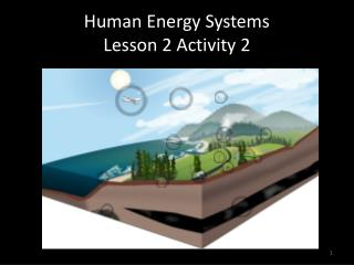 Human Energy Systems  Lesson 2 Activity 2