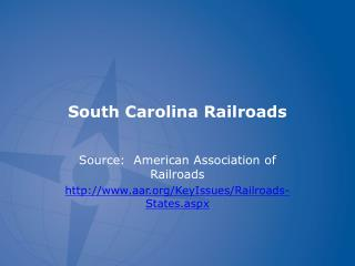 South Carolina Railroads
