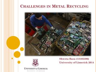 Challenges in Metal Recycling