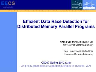 Chang-Seo  Park  and  Koushik Sen University of California  Berkeley