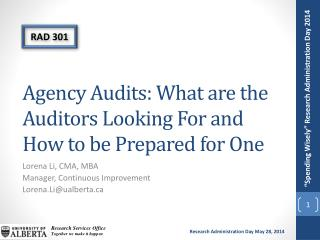 Agency Audits: What are the Auditors Looking For and How to be Prepared for One