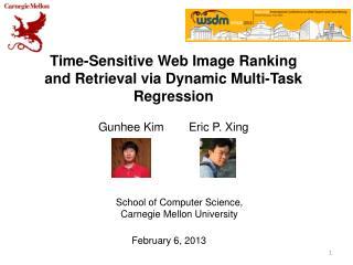 Time-Sensitive Web Image Ranking and  Retrieval via  Dynamic Multi-Task Regression