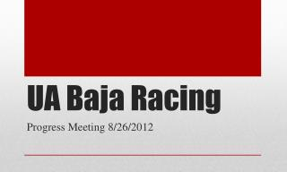 UA Baja Racing