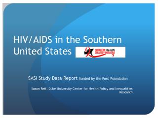 HIV/AIDS in the Southern United States