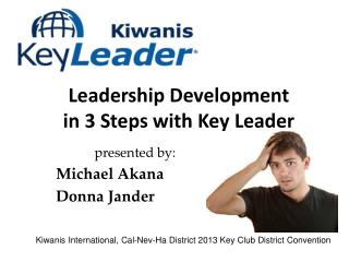 Leadership Development  in 3 Steps with Key Leader