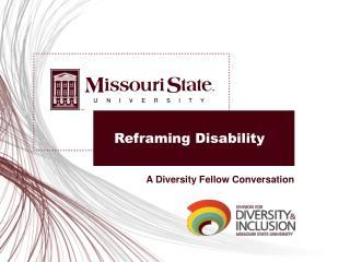 Reframing Disability