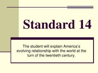 Standard 14