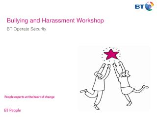 Bullying and Harassment Workshop
