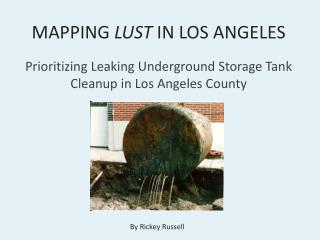 MAPPING  LUST  IN LOS ANGELES