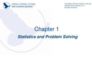 Statistics and Problem Solving
