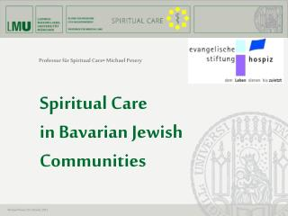 Professur für Spiritual  Care• Michael  Petery