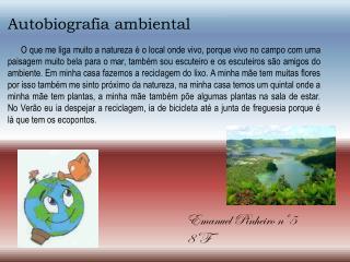 Autobiografia ambiental