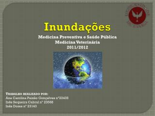 Trabalho realizado por: Ana Carolina Paixão Gonçalves nº23435 Inês Sequeira Cabral nº 23568