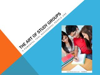 The ART OF STUDY GROUPS