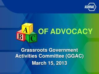 of Advocacy