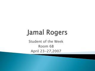 Jamal Rogers