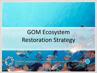 GOM Ecosystem Restoration Strategy