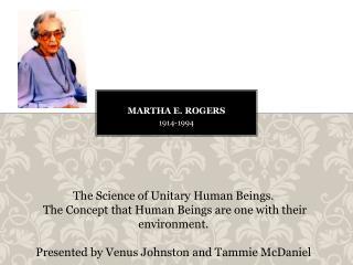Martha E. Rogers