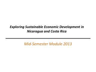 Mid-Semester Module 2013