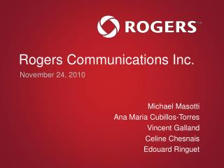 Rogers Communications Inc.