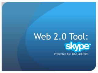 Web 2.0 Tool: