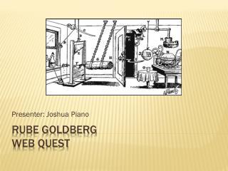 Rube Goldberg Web Quest