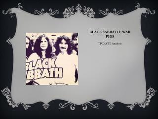 Black Sabbath: War Pigs